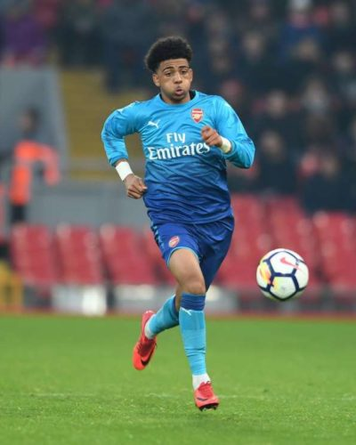 Arsenal's Nigerian Winger Tipped To Be The Next Iwobi Suffers Long-Term Injury