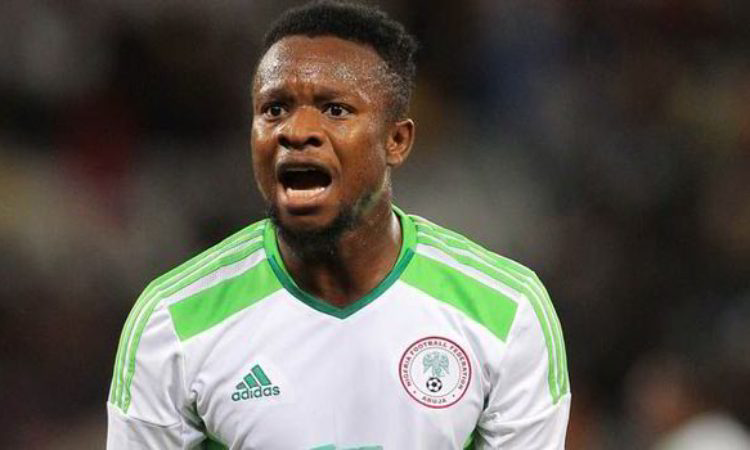Onazi ruled out of Libya clash