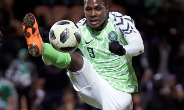Ighalo laments missing Bafana Bafana clas