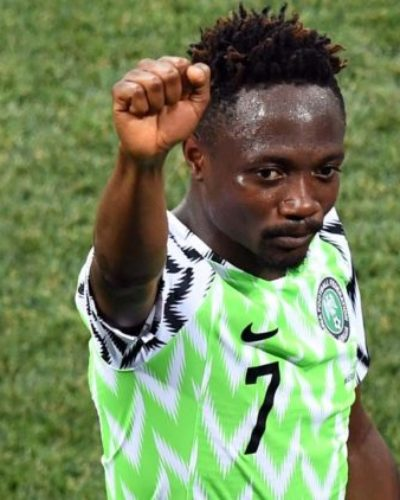 Opinion: Ahmed Musa could be the heir to Victor Moses's throne
