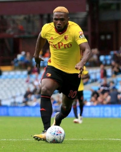 Top Nigeria Football News: Isaac Success Gets Hargreaves' Support For Penalty