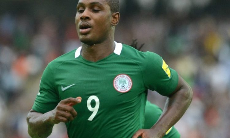 Ighalo doubtful for South Africa clash.
