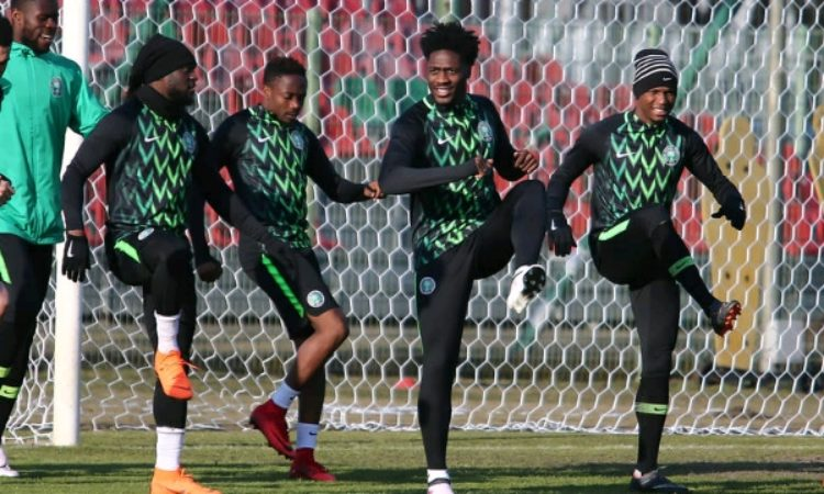 Super Eagles begin training on Tuesday