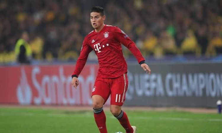 Transfer talk: Manchester United lineup James Rodriguez as replacement for Sanchez